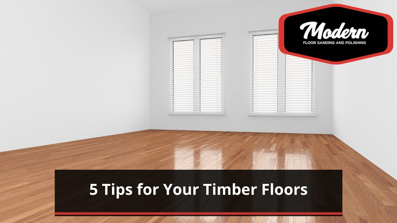 5 Tips for Your Timber Floors