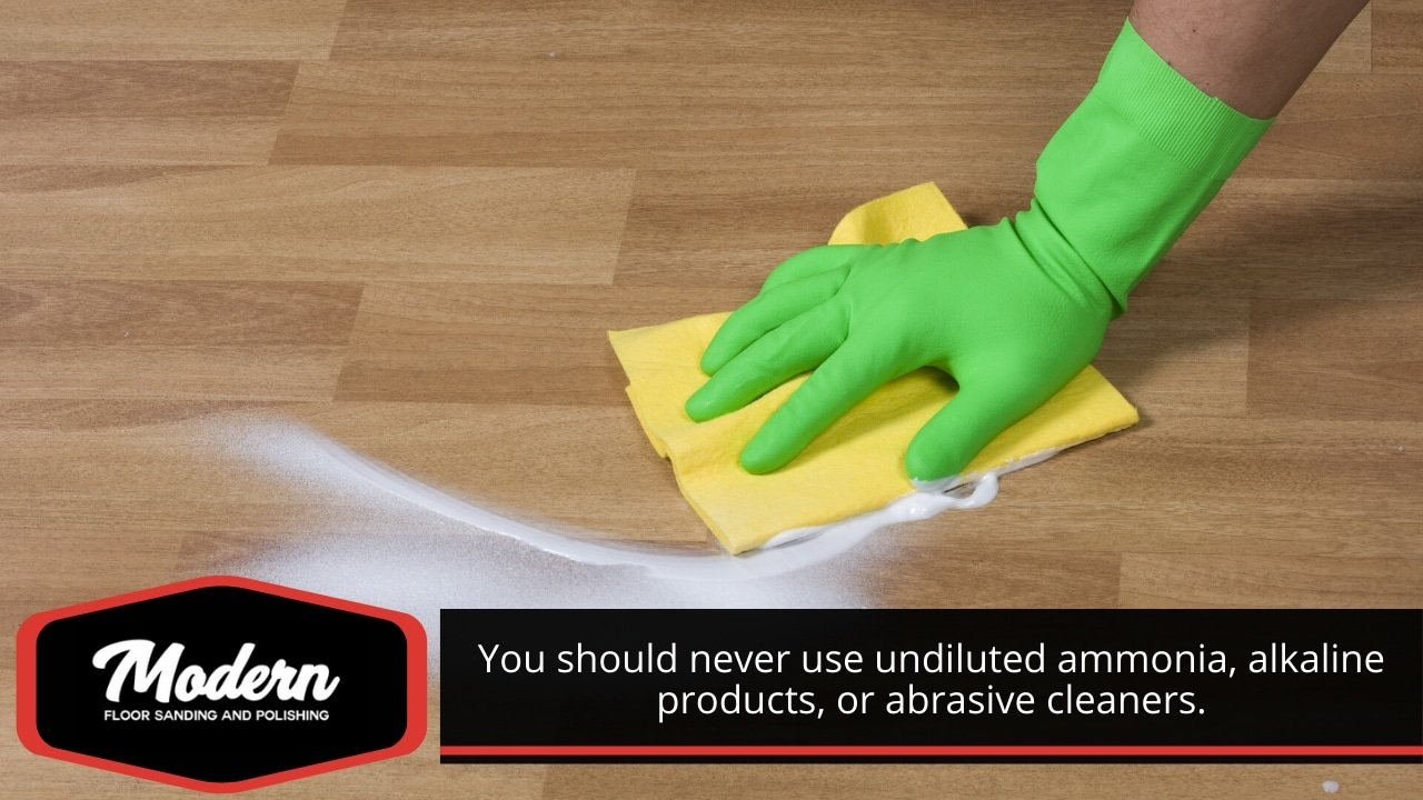 Choose the right floor cleaning products