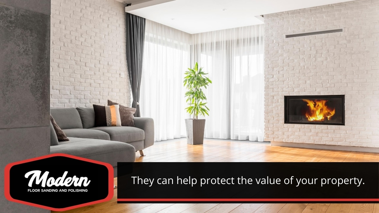 They can help protect the value of your property.