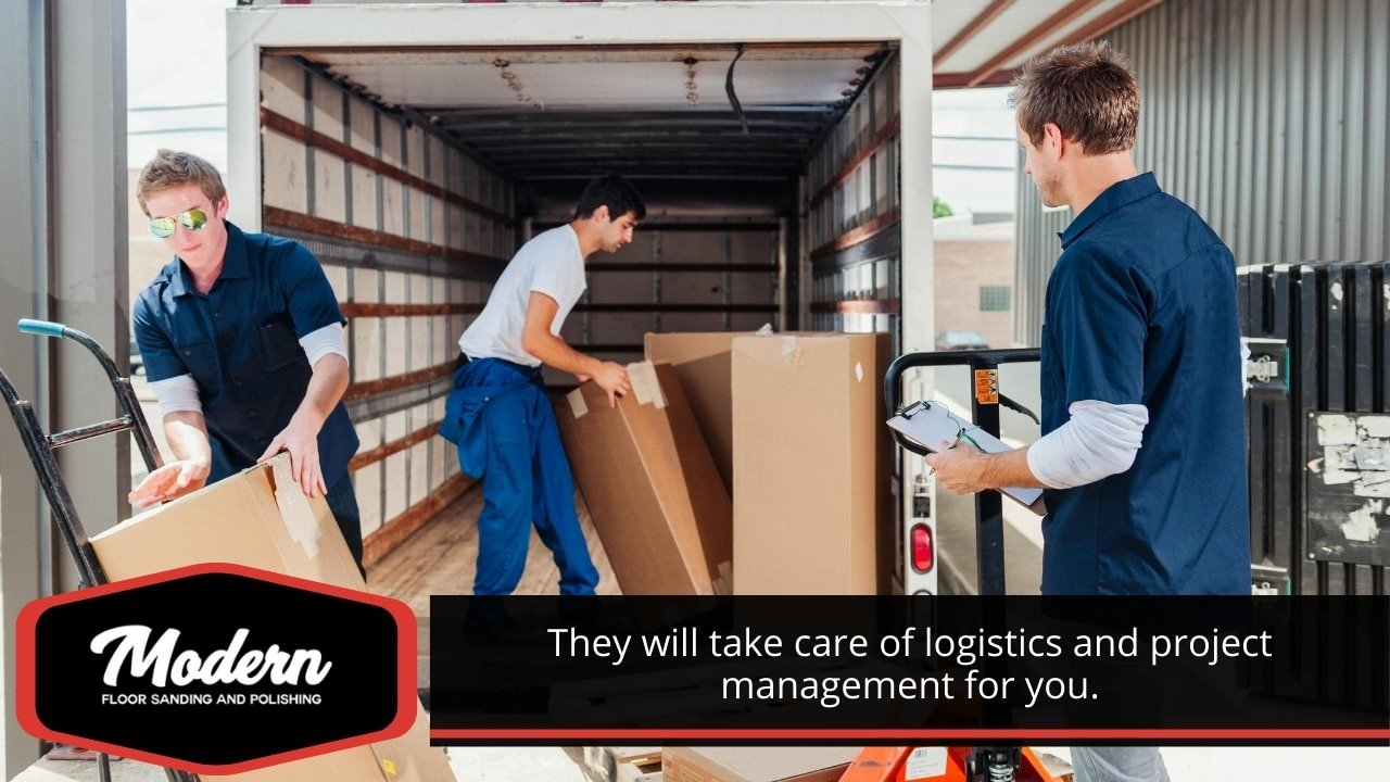 They will take care of logistics and project management for you.