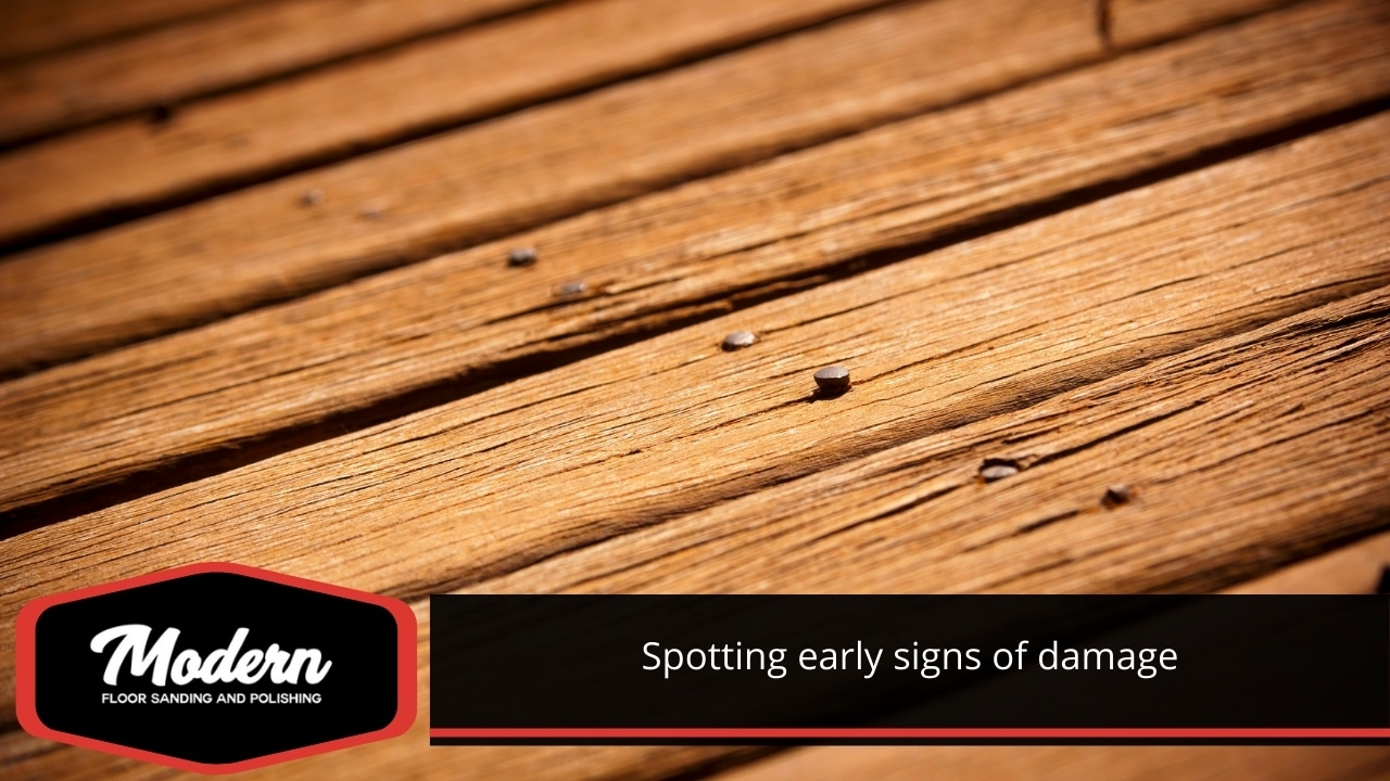 Spotting early signs of damage